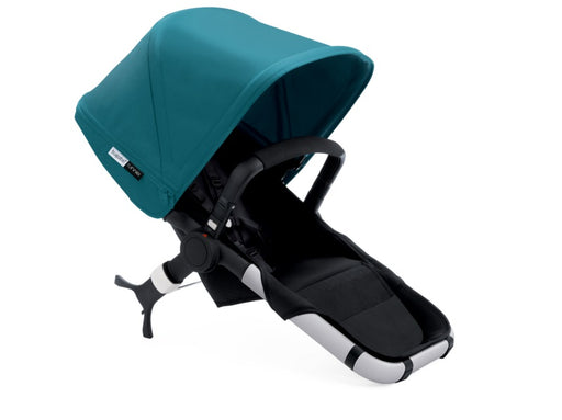 Bugaboo Runner/Buffalo Seat - Black/Petrol Blue