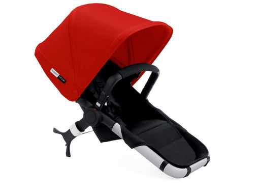 Bugaboo Runner/Buffalo Seat - Black/Red