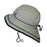 Calikids S1716 Unisex UV Quick Dry Hat - Quiet Grey - CanaBee Baby