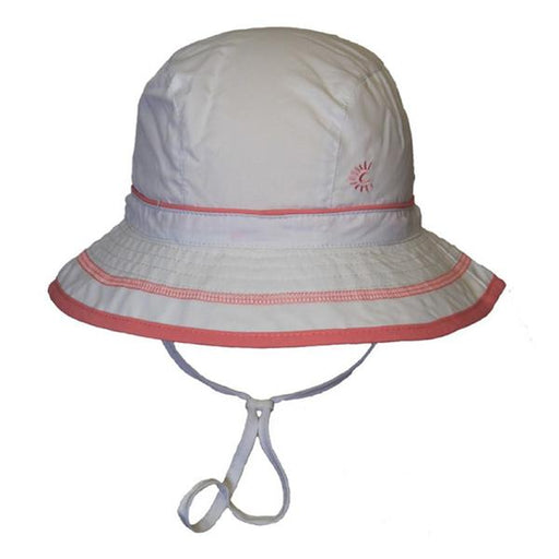 Calikids S1716 Unisex UV Quick Dry Hat - White - CanaBee Baby