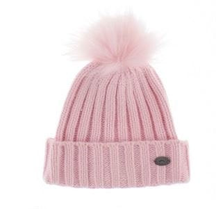 Calikids Hat 1 Pom W1826 Pink Toddler