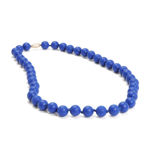 Chewbeads Jane Teething Necklace - Cobalt Blue - CanaBee Baby