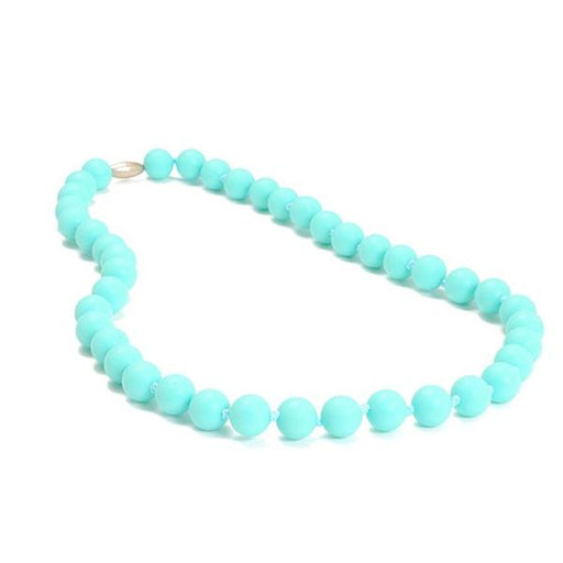 Chewbeads Jane Teething Necklace - Turquoise