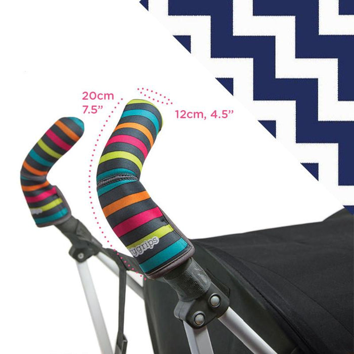 Choopie CityGrips Double Bar - Chevron Navy - CanaBee Baby