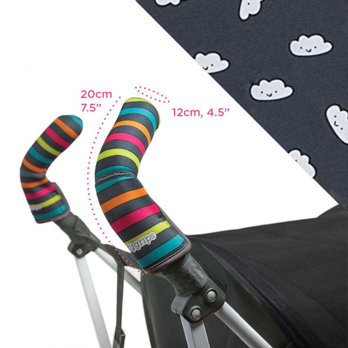 Choopie CityGrips Double Bar - Cute Clouds - CanaBee Baby