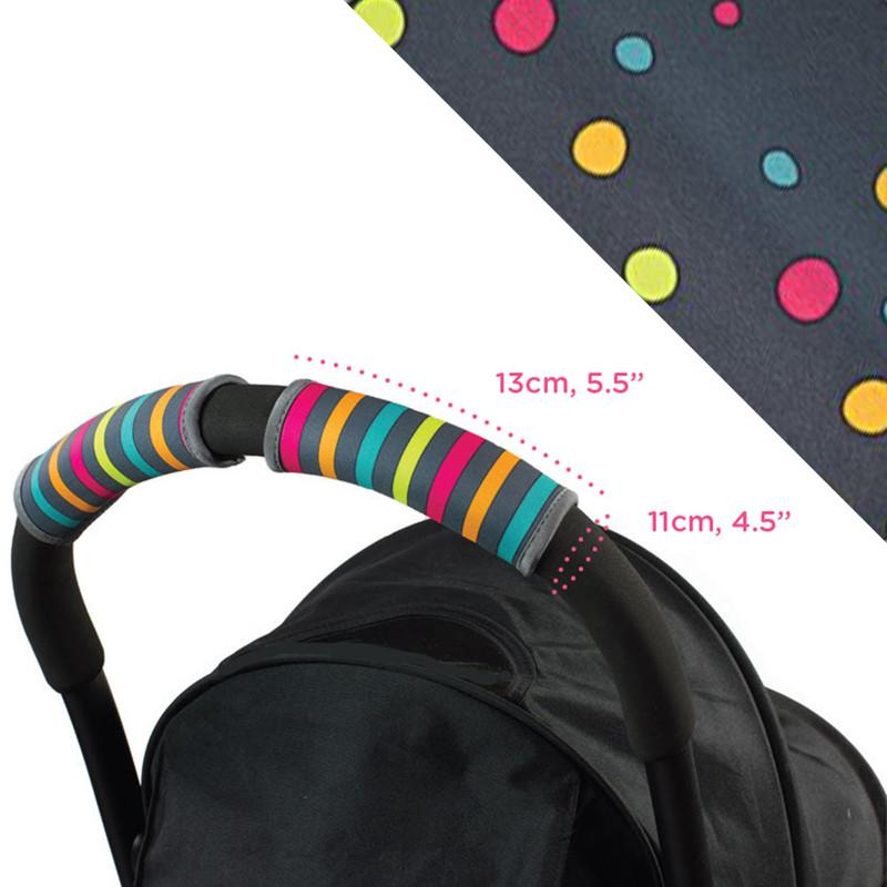 Choopie CityGrips Small Single Bar - Broadway Dots - CanaBee Baby