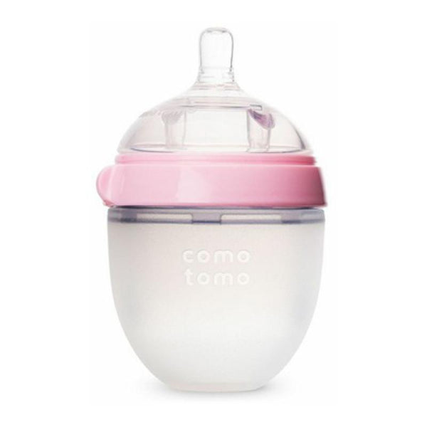 Como Tomo Natural Feel Baby Bottle 150ml Pink - CanaBee Baby