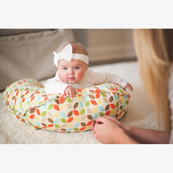 Leachco Cuddle - U Original Nursing Pillow - Multi Leaf
