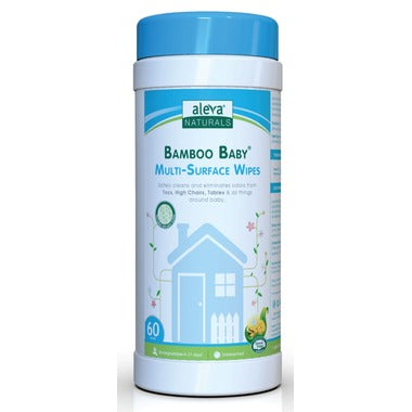 Aleva Bamboo Baby Multi Surface Wipes