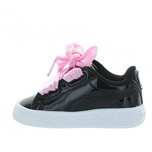 Puma Basket Heart Patent Black 36335301