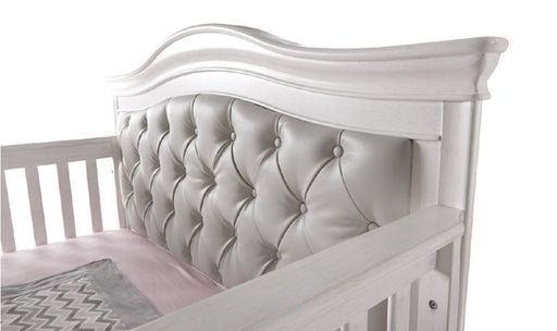 Pali 2401 Diamante Forever Crib w/ Vinyl Panel (Vintage White)