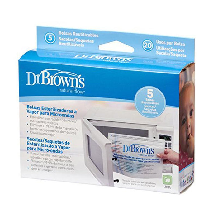 Dr. Brown's Microwave Steam Sterilizer Bags - CanaBee Baby