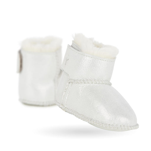 Emu Baby Bootie Metallic Silver - CanaBee Baby