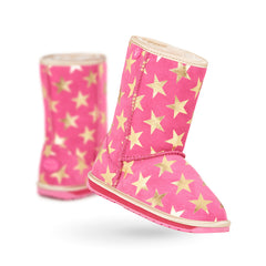 Emu Starry Night Hot Pink - CanaBee Baby
