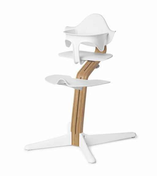 Nomi Highchair White - White Oak