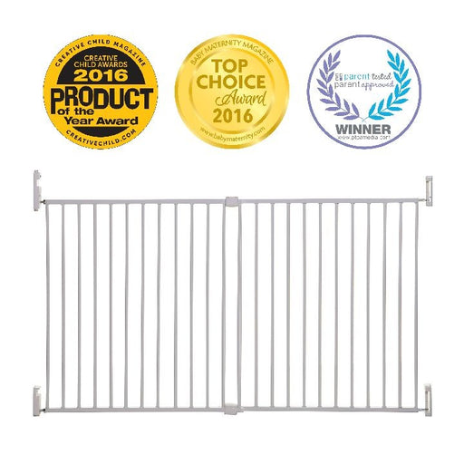 Dreambaby Broadway Xtra-wide Gro Gate White LC853 !
