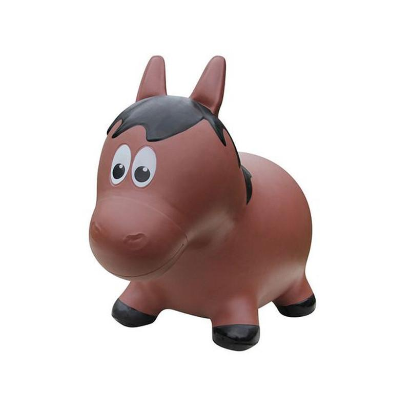 Farm Hoppers Animal Bouncers - Horse Brown - CanaBee Baby