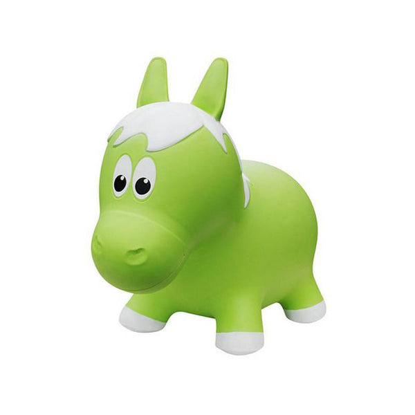 Farm Hoppers Animal Bouncers - Horse Green - CanaBee Baby