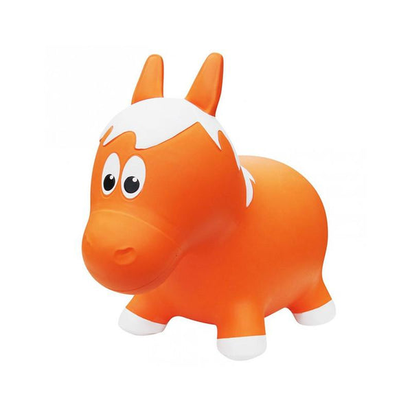 Farm Hoppers Animal Bouncers - Horse Orange - CanaBee Baby