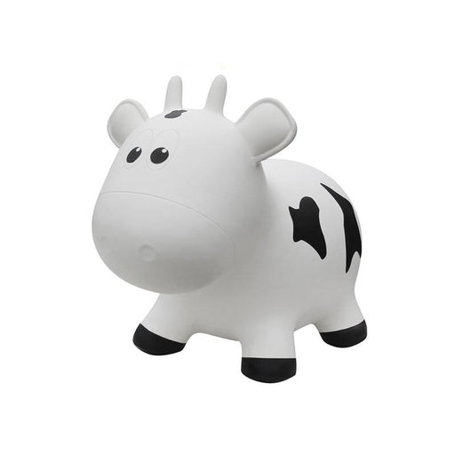 Farm Hoppers Animal Bouncers - Cow White - CanaBee Baby