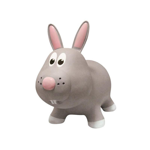Farm Hoppers Animal Bouncers - Rabbit Grey - CanaBee Baby