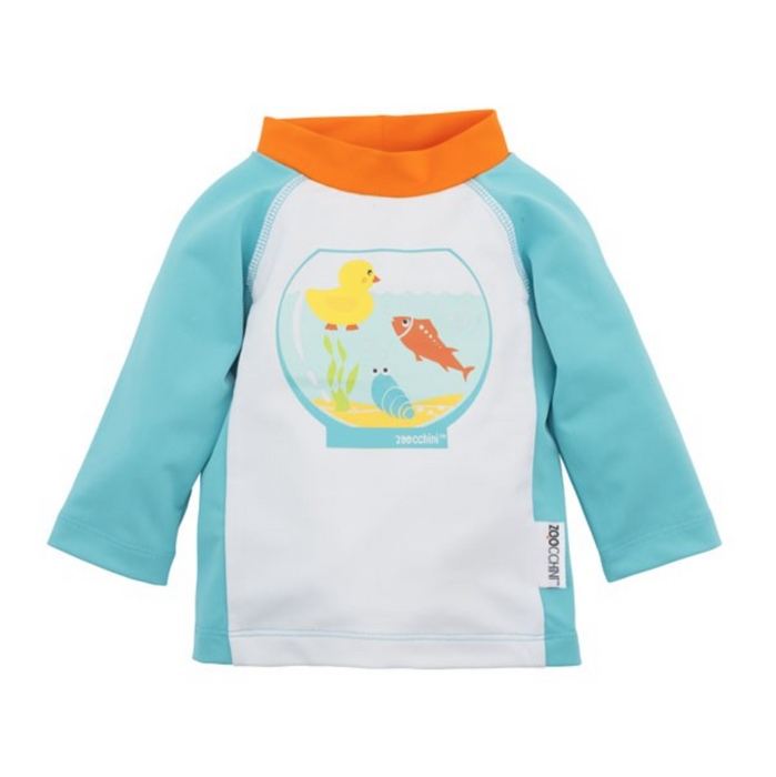 66657b9bf31 Zoocchini Rash Guard Fishbowl Buddies — CanaBee Baby