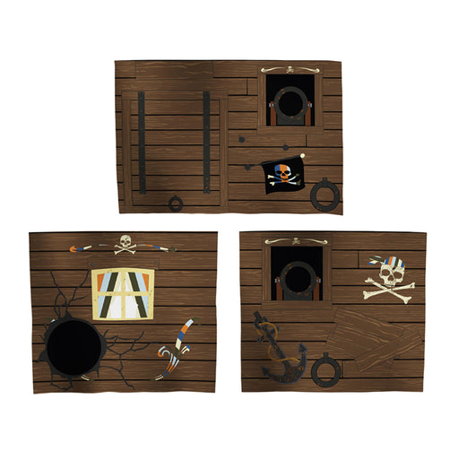 FLEXA Play Curtain Set 3pcs - Pirate