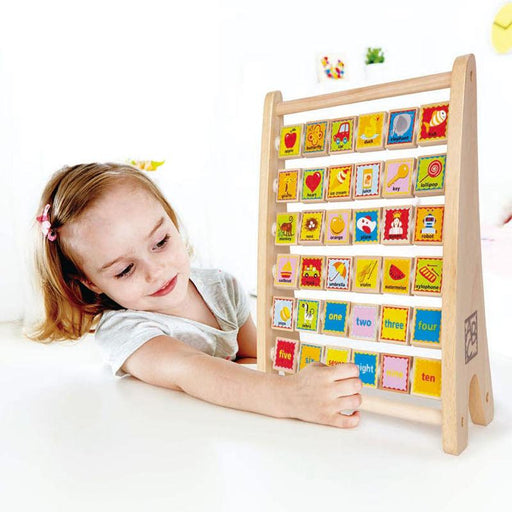 Hape Alphabet Abacus - CanaBee Baby