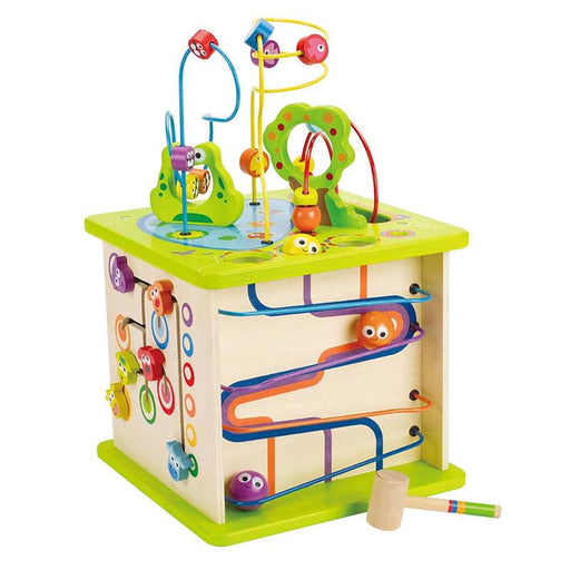 Hape Country Critters Play Cube - CanaBee Baby