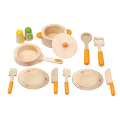 Hape Gourment Kitchen Starter Set - CanaBee Baby