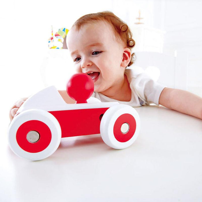 Hape Rolling Roadster Red - CanaBee Baby