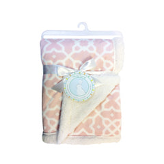 Honey Bunny Reversible Blanket Chamois (Assorted) - CanaBee Baby