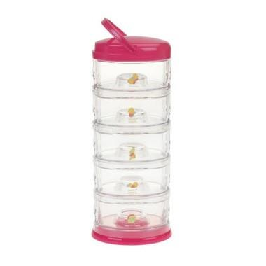 Innobaby Packin' Smart Stackables 5 Tier Butterfly - Fuschia - CanaBee Baby