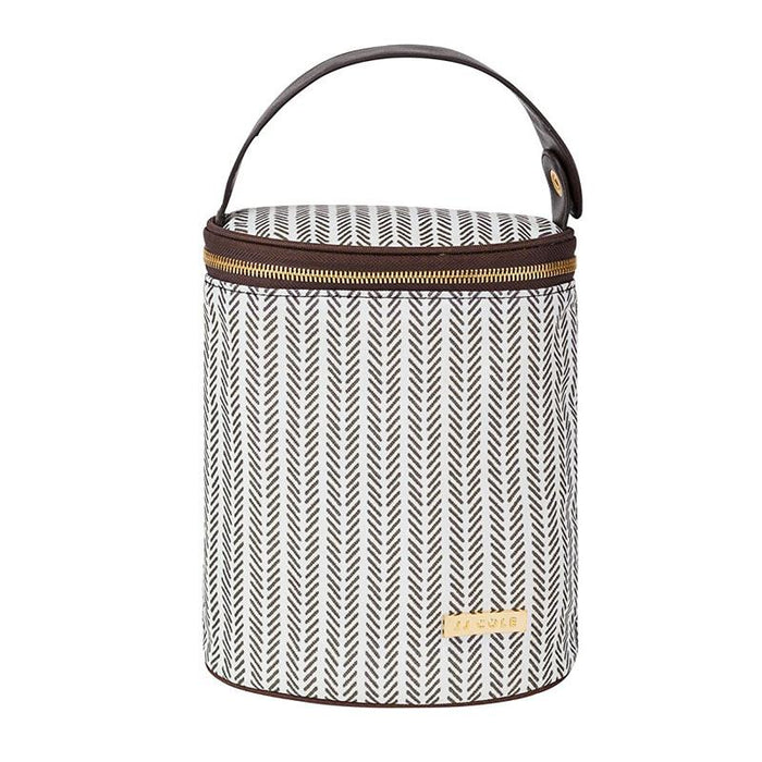 JJ Cole Bottle Cooler - Dashed Stripe - CanaBee Baby