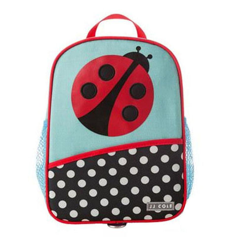 JJ Cole Little Harness Bag - Ladybug - CanaBee Baby