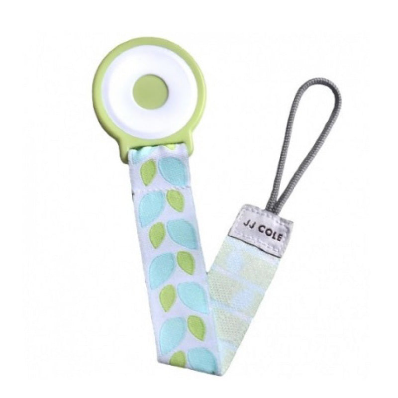 JJ Cole Pacifier Clips - Forest Leaf