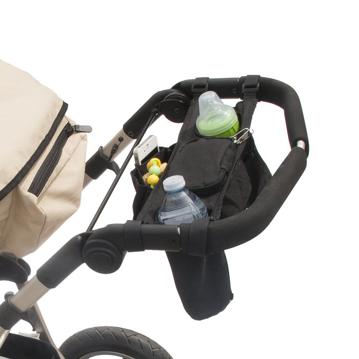 Jolly Jumper Stroller Caddy Secure Zipper Pocket