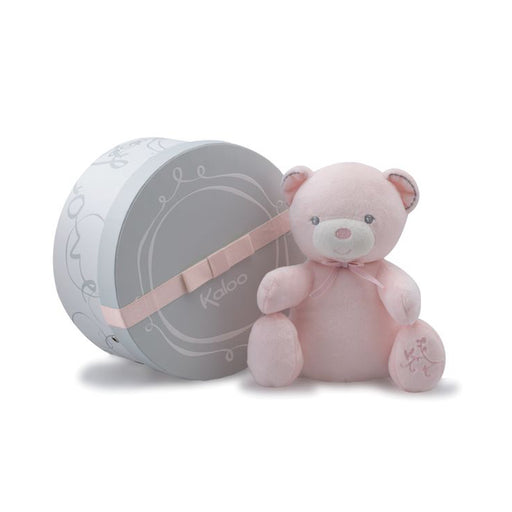 Kaloo Perle Musical Bear Baby Pink - CanaBee Baby