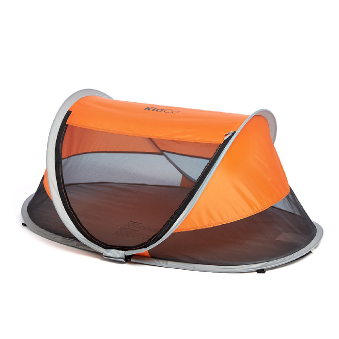 Kidco PeaPod Travel Bed Tangerine