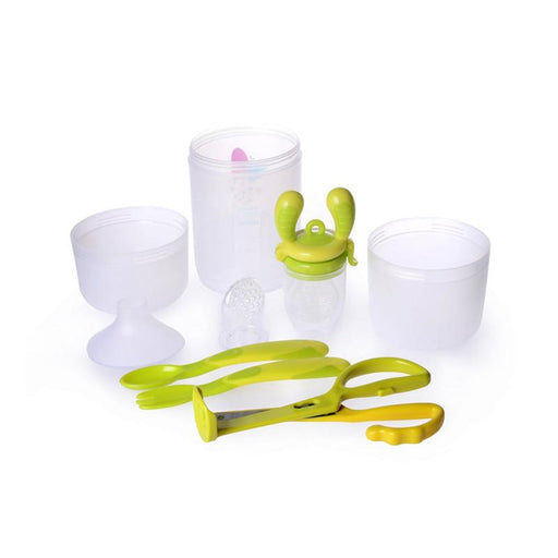 Kidsme Baby Travel Set with Food Container - Lime - CanaBee Baby