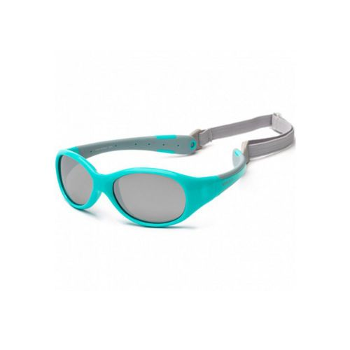 Koolsun Flex Sunglasses Aqua Grey 0+