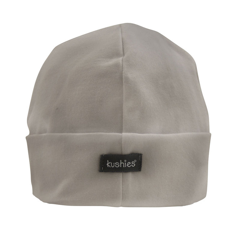 Kushies Baby Cap Grey - CanaBee Baby