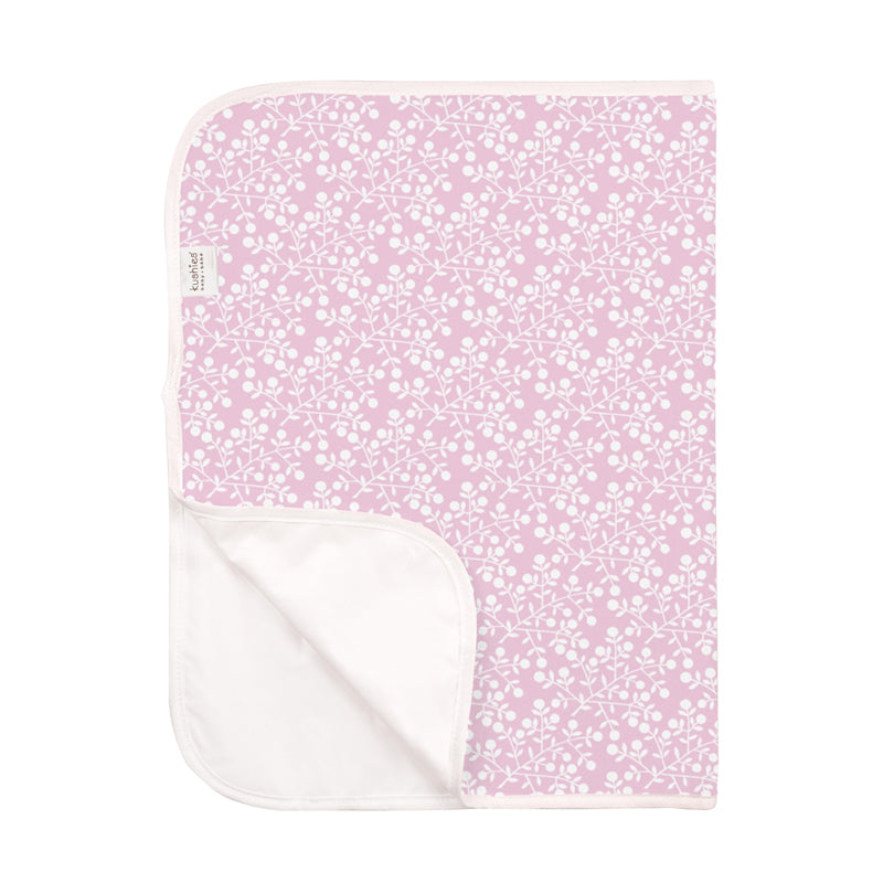 Kushies Change Pad - Pink Berries - CanaBee Baby