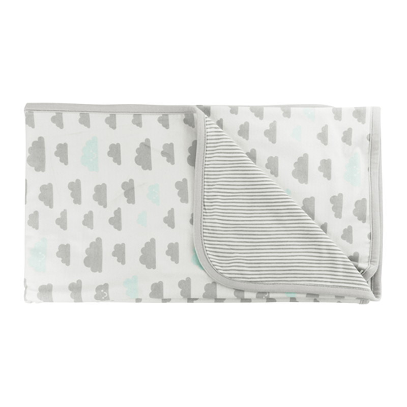 Kushies Soft N' Cuddly Neutral Blanket White - CanaBee Baby