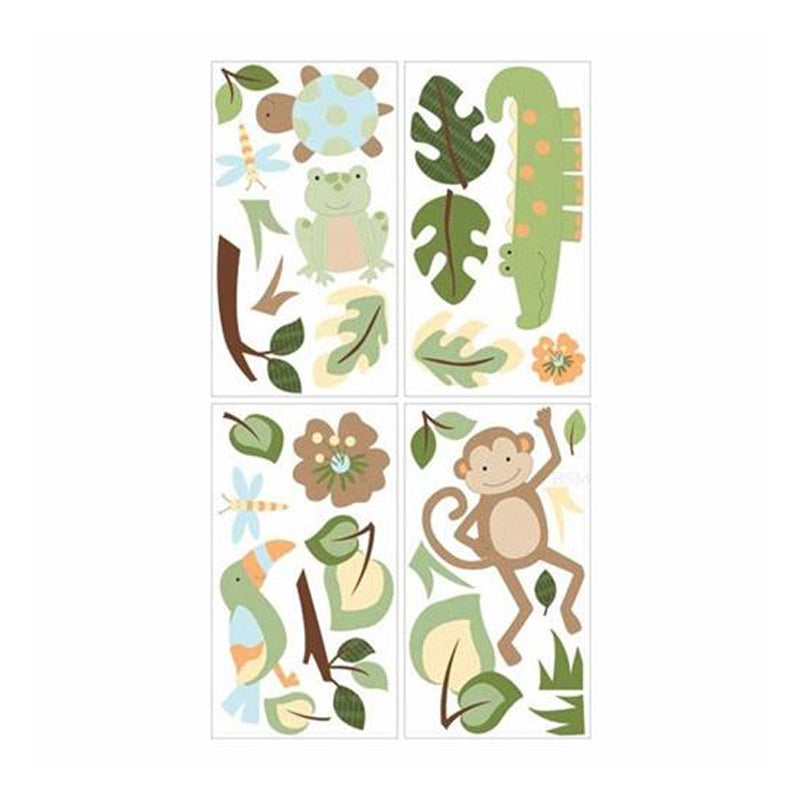 Lambs & Ivy Wall Appliques Papagayo - CanaBee Baby
