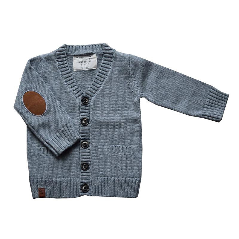 L&P Boys Knit Cardigan - CanaBee Baby
