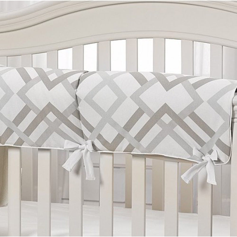 Liz and Roo Crib Rail Cover(Made in USA) - Easton