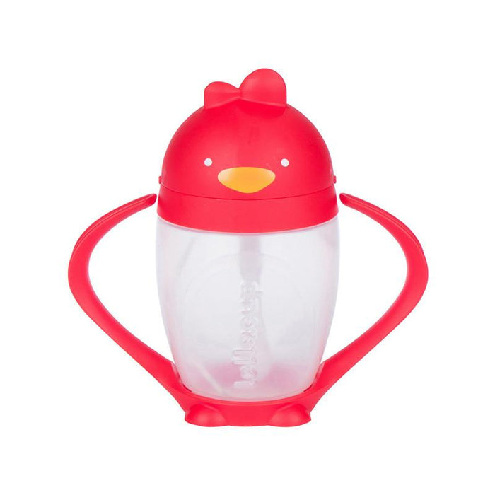 Lollaland Lollacup - Straw Sippy Cup - Red - CanaBee Baby