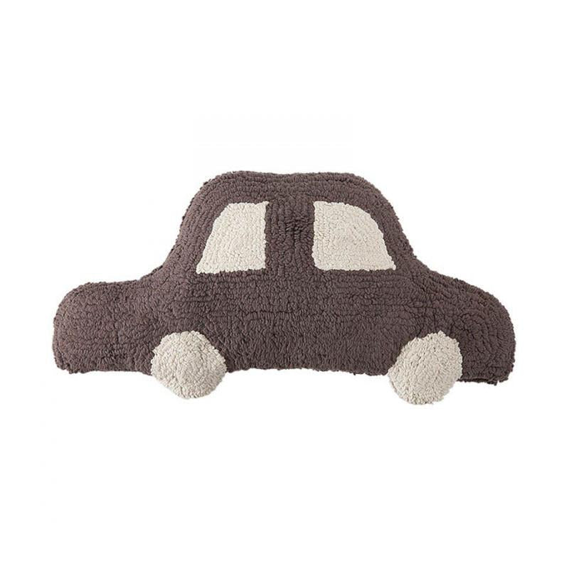 Lorena Canals Cushion Car - Brown - CanaBee Baby