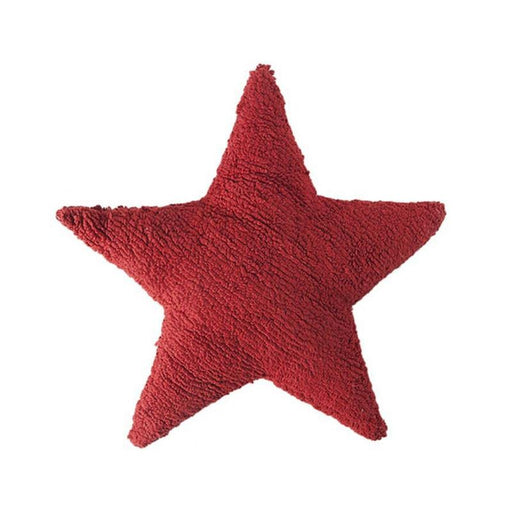 Lorena Canals Cushion Star - Red - CanaBee Baby